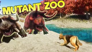 BUILDING A POST APOCALYPTIC GENETICALLY MUTATED ZOO? ARK Meets a Zoo Tycoon! - Animallica Gameplay