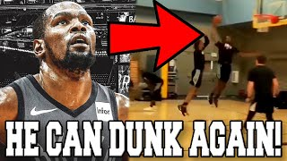 Kevin Durant GOT HIS ATHLETICISM BACK! SHOWS BOUNCE IN WORKOUT FOR BROOKLYN NETS POST INJURY