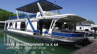 Houseboat For Sale Houseboats Buy Terry 1998 Jamestowner 16 x 64