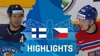 Finland - Czech Republic | Highlights | #IIHFWorlds 2017