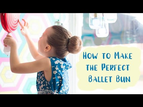 How to Make the Perfect Ballet Bun for a Show