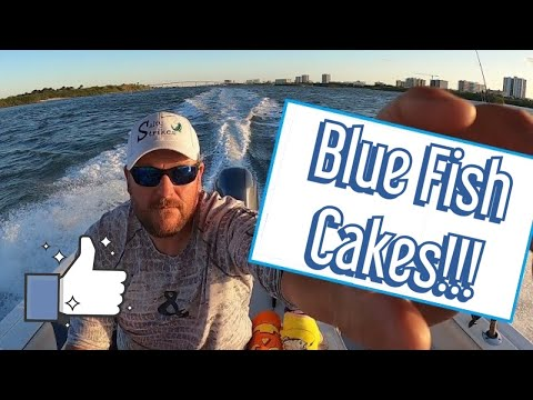 Florida Fishing Ponce Inlet And Can You Eat Blue Fish? I Show You These Delicious Blue Fish Cakes!!