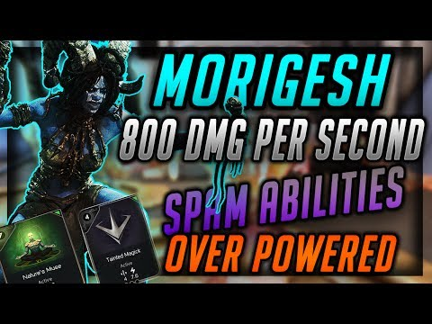 "MORIGESH SPAM ABILITIES ""RIGHT CLICK"" 2X PER SECOND