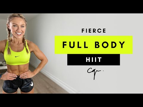 30 Min FIERCE FULL BODY HIIT WORKOUT at Home | No Repeat