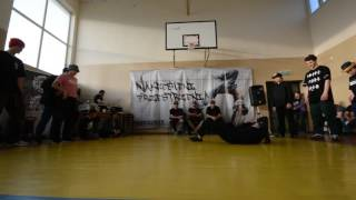 Finał Bgirl Battle 1vs1 / Jasu vs Ninja vs Natia