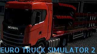 Gambar cover EURO TRUCK SIMULATOR 2  FLATBED TRAILERS LOAD ATS 1.35 | ETS2 1.35 POLAND SCANIA  SINGLE PLAYER