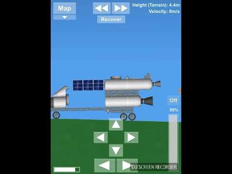 All my rokets in space flight sim