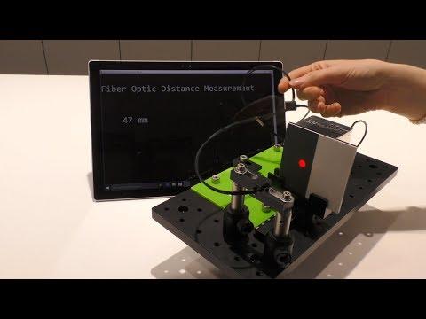Depth measurement through optical fibers: XperYenZ™ measures distances in harsh environments