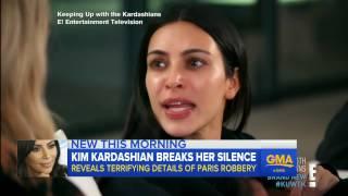 Kim Kardashian speaks out about her traumatic Paris burglary
