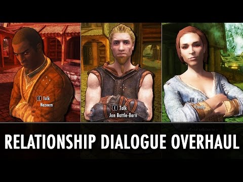 Skyrim Mod: Relationship Dialogue Overhaul