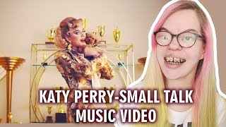KATY PERRY - SMALL TALK (MUSIC VIDEO REACTION) | Sisley Reacts