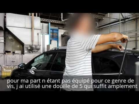 Tuto demontage barre de toit Renault Megane 3 Estate/disassembly roof bar Renault Megane 3 Estate