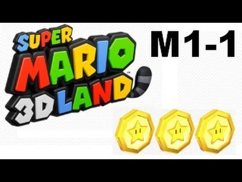 Super Mario 3D Land al 100% Mundo 1-1