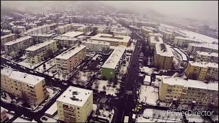 Mediaș Gura cîmpului de sus iarna Xiaomi drone