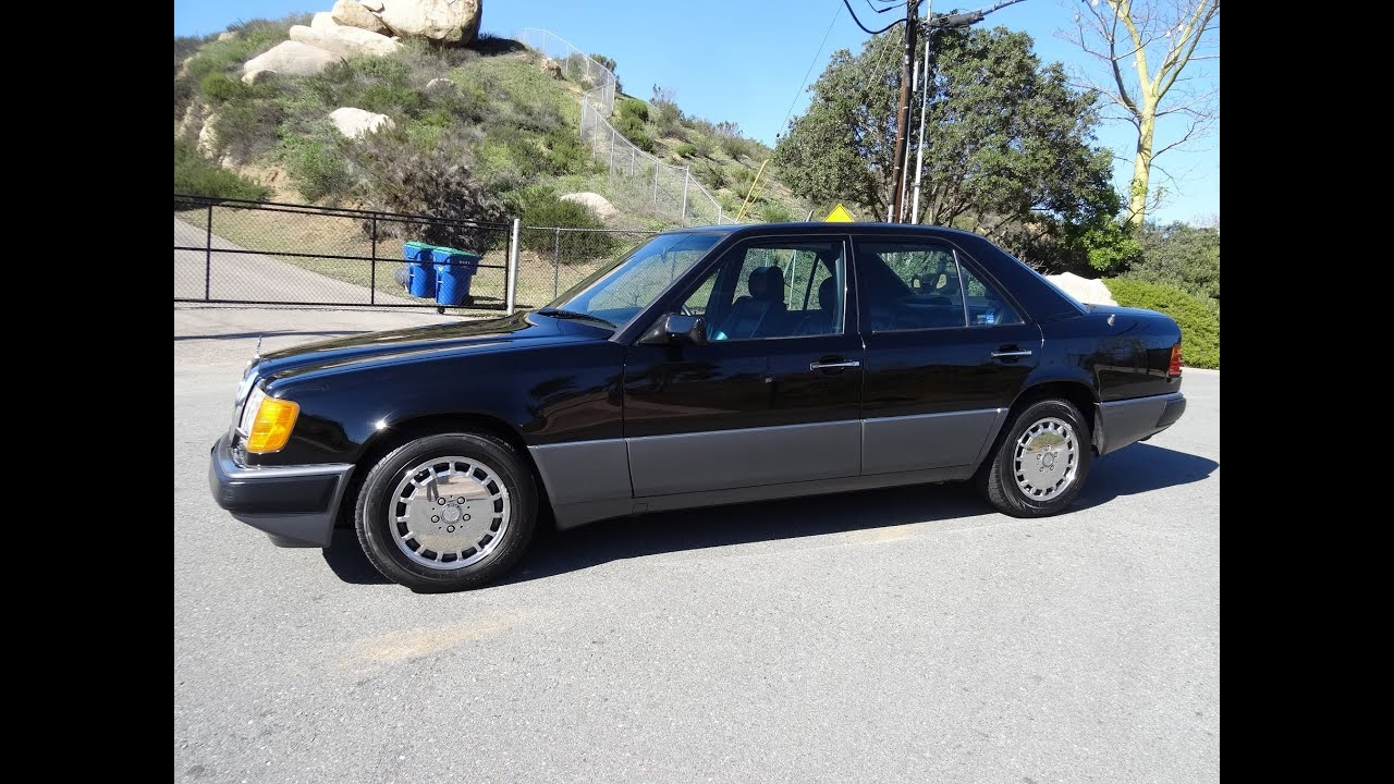 Mercedes Benz 300E W124 Sedan 6cyl  Rare 3 2 1993 1 Owner Youngtimer Early  E320 400E E500