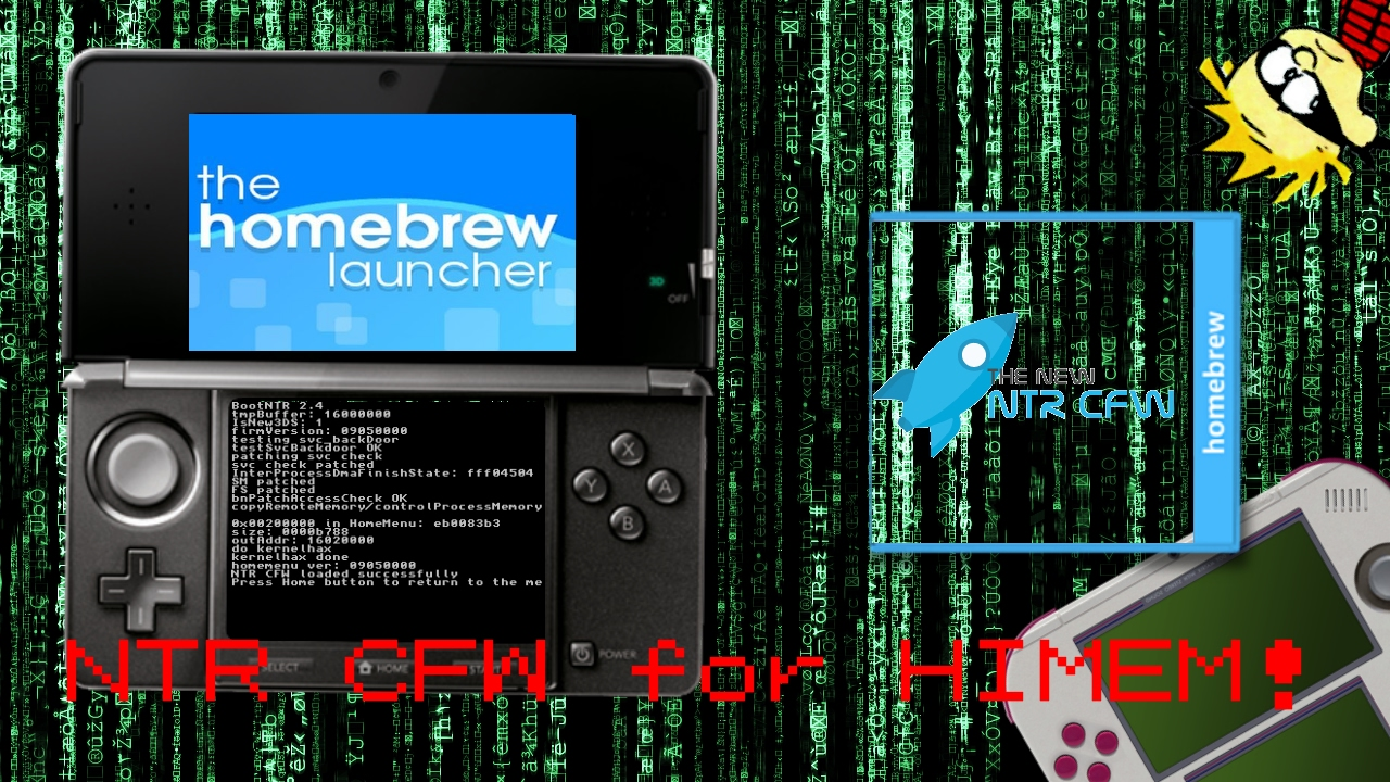 [Nintendo 3DS]NTR CFW with Extended Memory games on o3DS!  (Sun/Moon/Smash/MH4/etc)