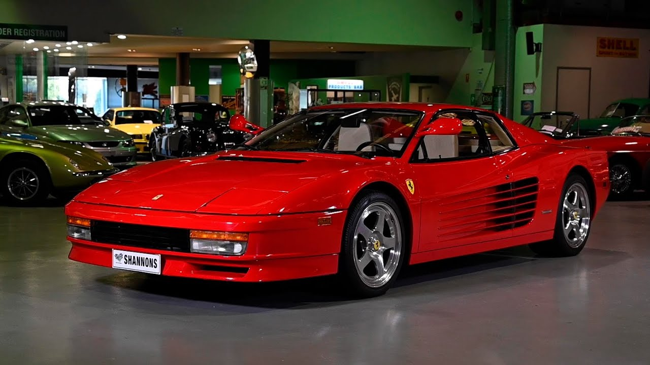 1986 Ferrari Testarossa Coupe (LHD) - 2019 Shannons Sydney Winter Classic Auction