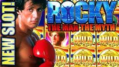 ★NEW SLOT! ★ ROCKY 🥊 $5.00 MAX BET SESSION! THE MAN THE MYTH Slot Machine Bonus (SG)