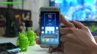 How to Install Galaxy S8 Weather Widget & Soft Keys on Galaxy Phones!