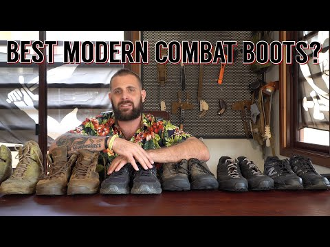 Combat Boots or Sneakers? Modern Operational Footwear