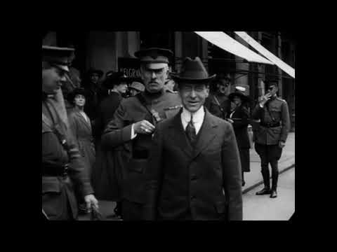 1918 - London Street Scenes (speed Corrected W/ Added Sound)