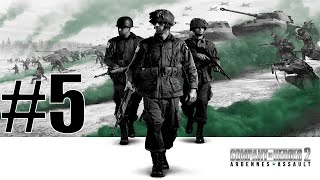 Company Of Heroes 2 Ardennes Assault Gameplay Part 5 - Dropping in