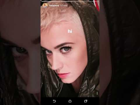 new katy perry hair style 2017