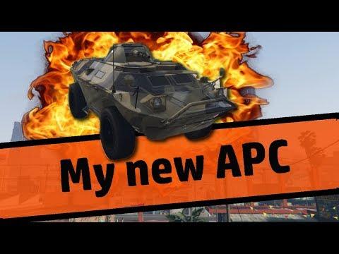 My New APC   GTA V Machinima   Gunrunnning Special