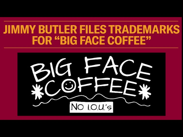 Jimmy Butler Files Trademarks For Big Face Coffee Youtube