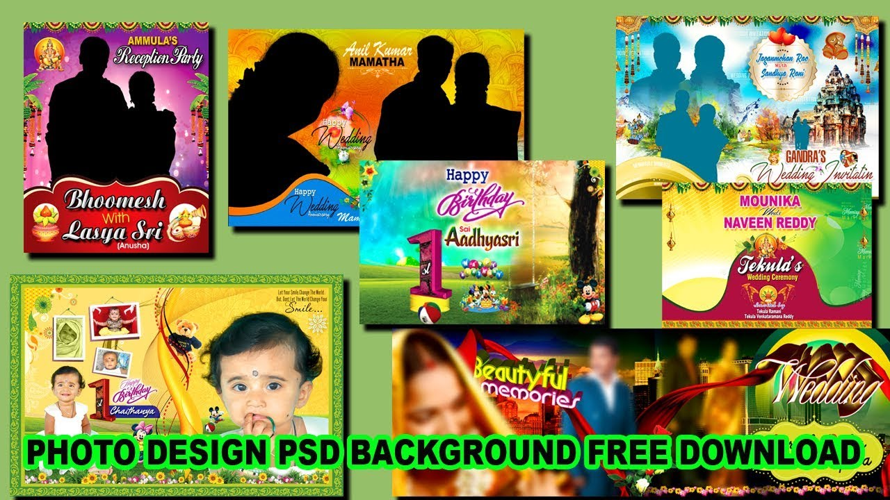 photoshop cs3 indian wedding psd backgrounds for free