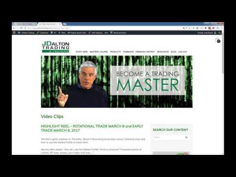 J Dalton Trading Market Profile Mastery Series Kickstart Webinar #1