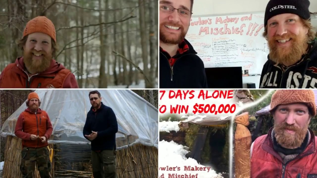 VLOG #Walkaboutwednesday with Zachary Fowler – Winner of ALONE