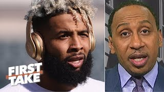 The Giants don't need Odell Beckham Jr. - Stephen A. Smith | First Take