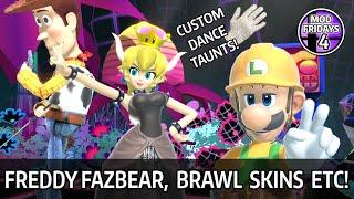 40 Character Skins & 10 Stage Skins   Super Smash Bros. Ultimate Mod Showcase #4 (Mod Friday)