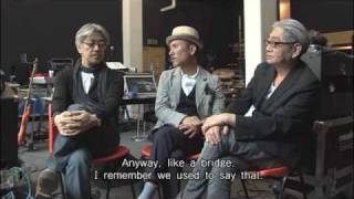 Excerpt from long interview with YMO, backing musicians & crew on P...