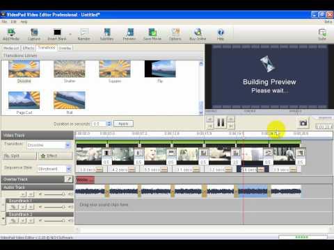 videopad video editor  software