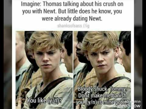 Thomas Sangster Newt Imagines Part 3 Youtube
