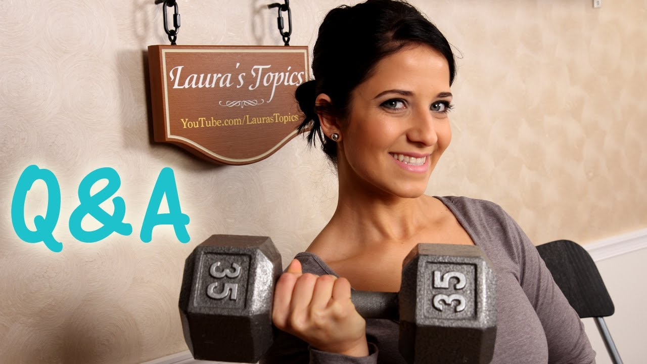 Laura\'s Topics: Staying Fit in the Kitchen Q&A - Topic 5 - YouTube