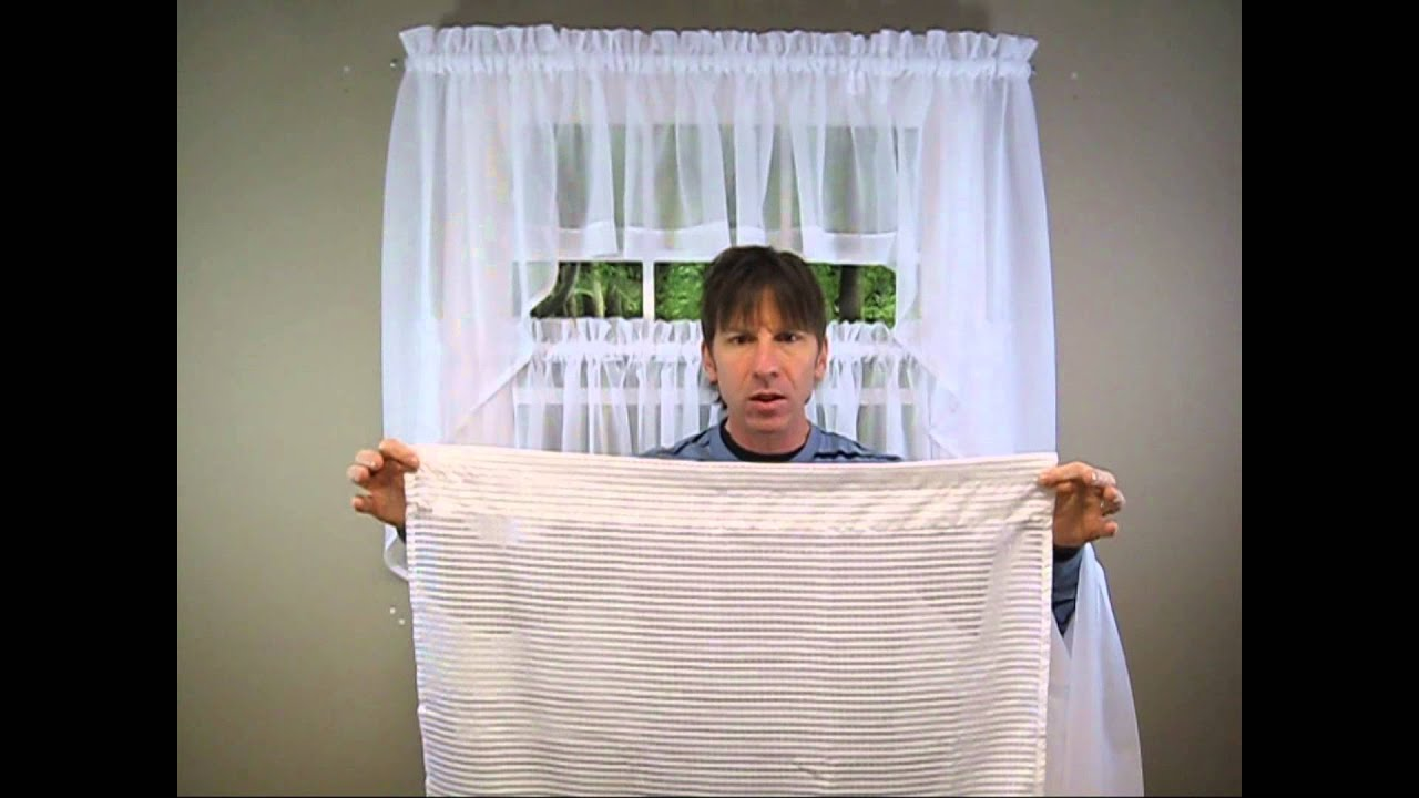 Sheer Kitchen Curtains Explained Youtube