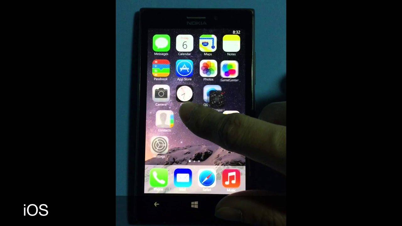 Lumia switch to Windows/MeeGo/iOS/Android UI