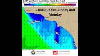 cdip southern california swell forecast july 4th holiday weekend