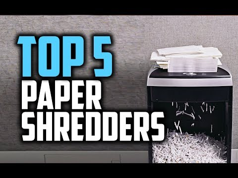 Best Paper Shredders In 2018 - Which Is The Best Paper Shredder?
