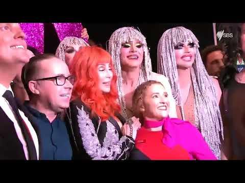 Cher Performs as Sydney Celebrates 40th Mardi Gras