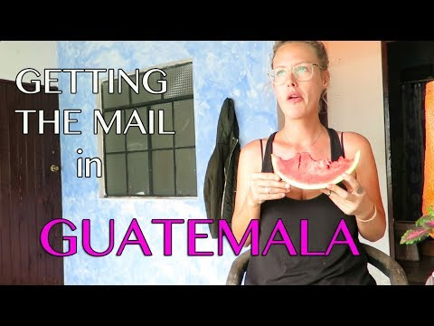 Getting The Mail in Guatemala City