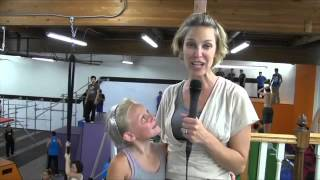 Training to free run Parkour-style at Orange County gym - 2013-07-16