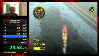Shipwreckers! Any% Medium in 59:57 (WR)