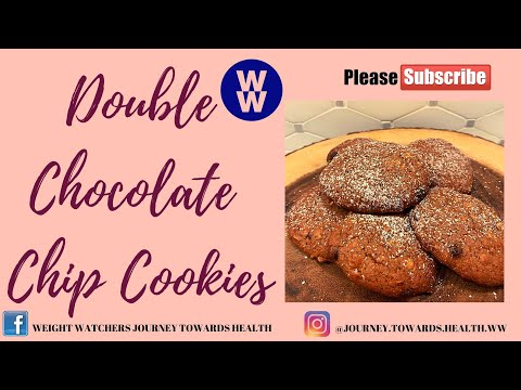 🍪double-chocolate-chip-cookies---1-point---weight-watchers!