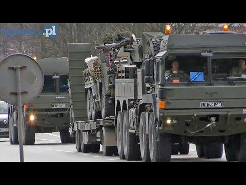 Piątnica| Konwój wojsk NATO