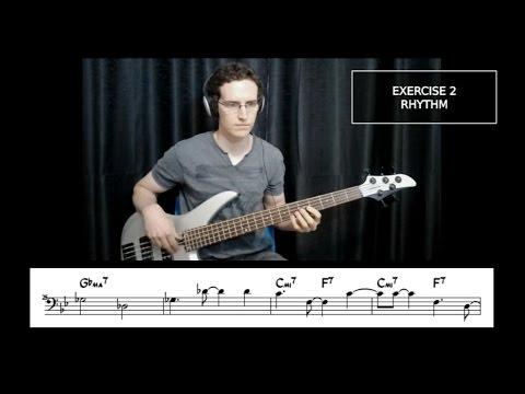"Building Bossa Basslines #4: ""My Little Boat"" - Bass Guitar Lesson"