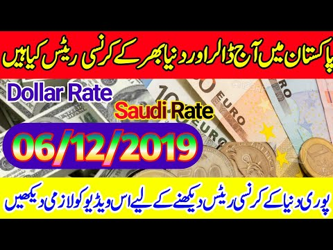 Today All Currency Rates In Pakistan | Today Dollar Rate Open Market |Saudi/Derhm/Omni Rates.